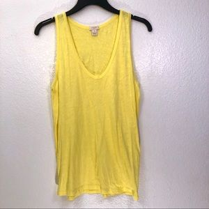 J. Crew Factory Scoop Cotton Layering Tank